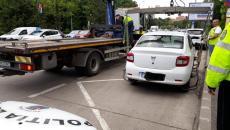 Mașini parcate neregulemantar, ridicate din zona centrală a Timișoarei