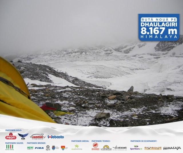 Horia Colibășanu încearcă deschiderea unei noi rute pe vârful Dhaulgiri