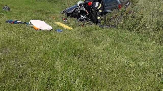 Accident rutier în apropiere de Șiria