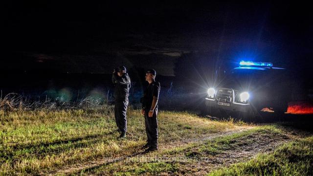 Algerian, prins după miezul nopții de polițiștii de frontieră