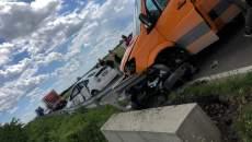 Accident rutier între Săcălaz și Sânmihaiu Român