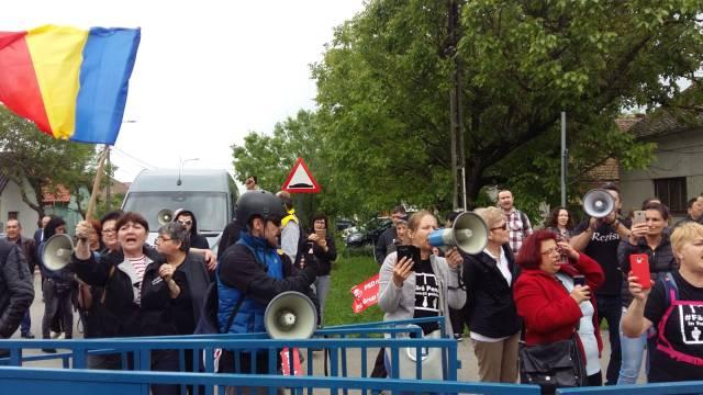 protest giarmata