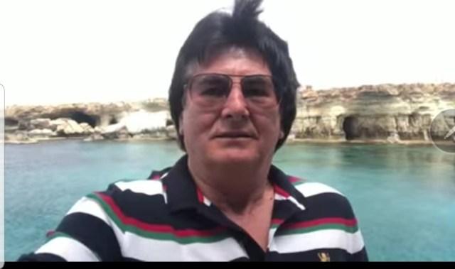 Nicolae Robu, în vacanța din Cipru