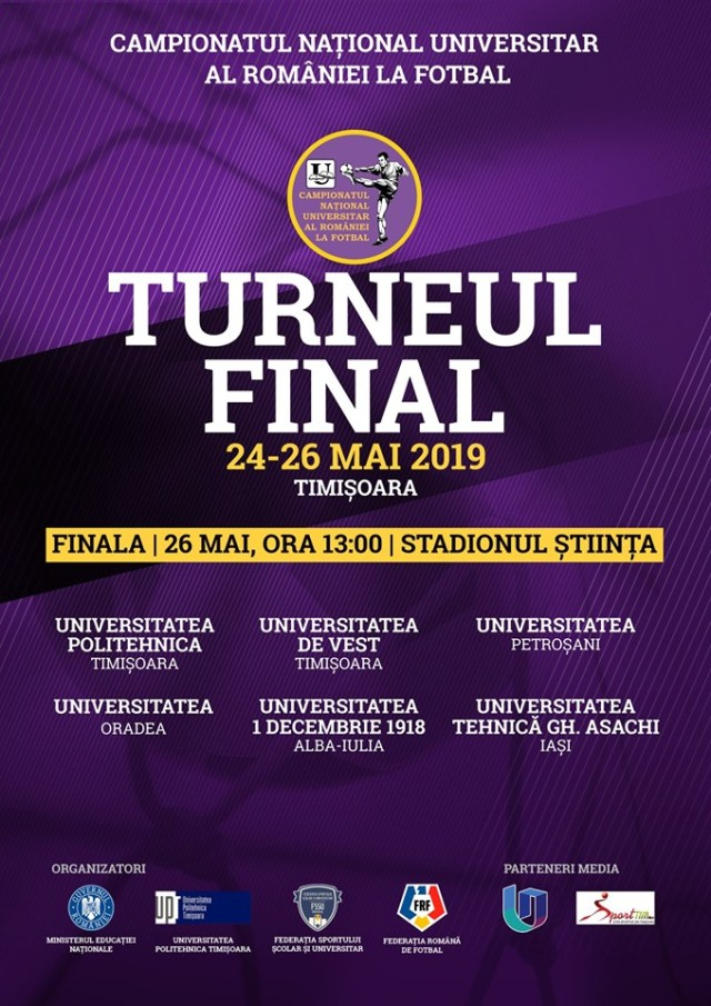 Campionatul Național Universitar al României la Fotbal