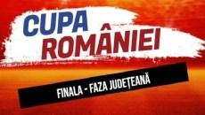 Finala Cupei României, faza județeană