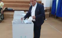Adrian Pau a votat la Giarmata Vii