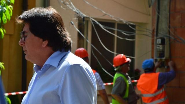 Primarul Robu, la demolarea imobilului