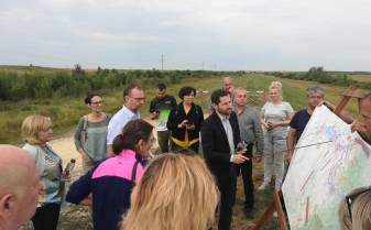 Delegație europeană pe râul Bârzava