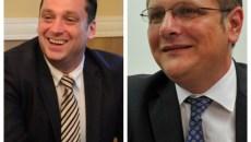 Viceprimarii Timișoarei: Farkaș Imre și Dan Diaconu