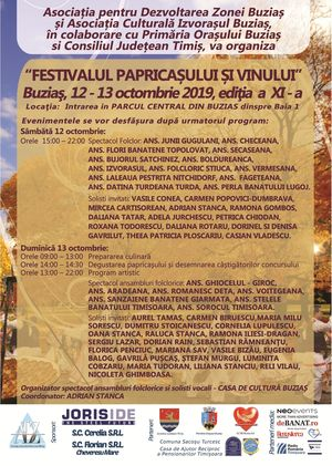 Festivalul papricasului si vinului Buzias 2019