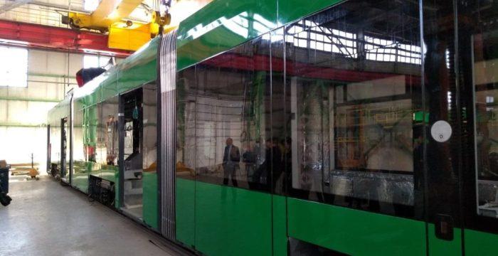 tramvai fabricate la Arad