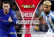 Prediksi Chelsea vs Huddersfield 2 Februari 2019