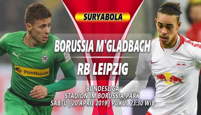 Prediksi M'gladbach vs RB Leipzig