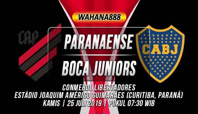 Prediksi Atletico Paranaense vs Boca Juniors