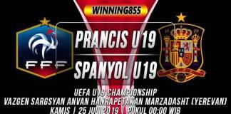 Prediksi Prancis U19 vs Spanyol U19
