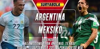 Prediksi Bola Argentina vs Meksiko