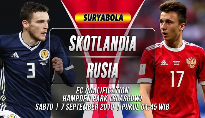 Prediksi Skotlandia vs Rusia 7 September 2019