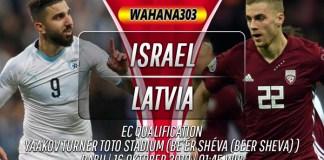 Prediksi Israel vs Latvia 16 Oktober 2019