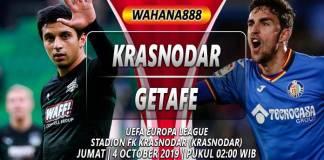 Prediksi Krasnodar vs Getafe