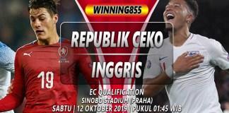 Prediksi Republik Ceko vs Inggris 12 Oktober 2019