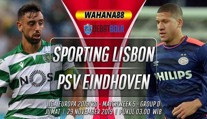 Prediksi Sporting Lisbon vs PSV 29 November 2019
