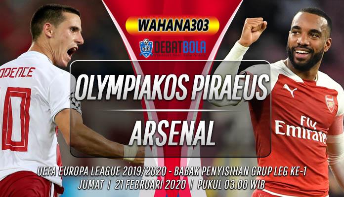 Prediksi Olympiakos Piraeus vs Arsenal 21 Februari 2020