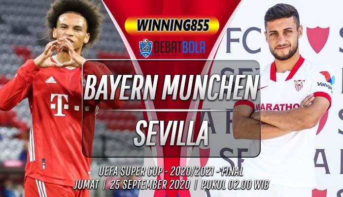 Prediksi Bayern Munchen vs Sevilla 25 September 2020