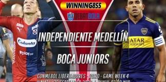 Prediksi Independiente Medellín vs Boca Juniors 25 September 2020