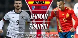 Prediksi Jerman vs Spanyol 4 September 2020