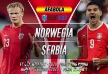Prediksi Norwegia vs Serbia 9 Oktober 2020