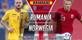 Prediksi Rumania vs Norwegia 16 November 2020
