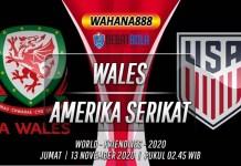 Prediksi Wales vs Amerika Serikat 13 November 2020