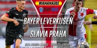 Prediksi Bayer Leverkusen vs Slavia Praha 11 Desember 2020