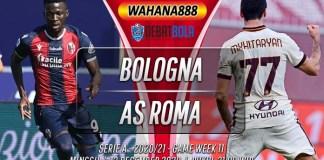 Prediksi Bologna vs AS Roma 13 Desember 2020