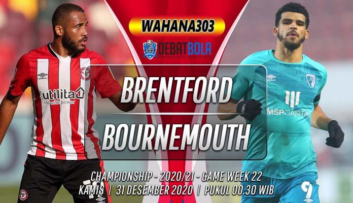 Prediksi Brentford vs Bournemouth 31 Desember 2020