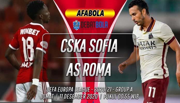 Prediksi CSKA Sofia vs AS Roma 11 Desember 2020