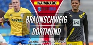 Prediksi Eintracht Braunschweig vs Borussia Dortmund 23 Desember 2020