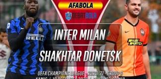 Prediksi Inter Milan vs Shakhtar Donetsk 10 Desember 2020