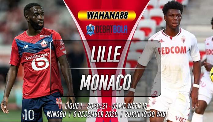 Prediksi Lille vs Monaco 6 Desember 2020