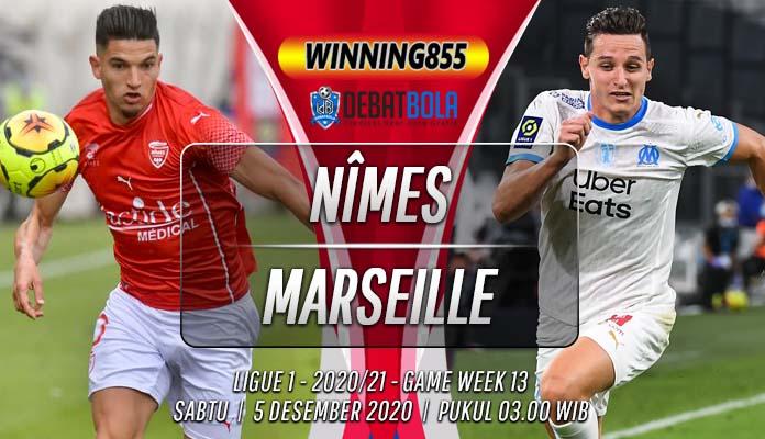 Prediksi Nîmes vs Marseille 5 Desember 2020