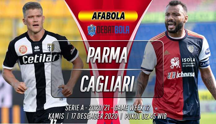 Prediksi Parma vs Cagliari 17 Desember 2020