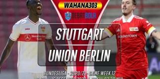 Prediksi Stuttgart vs Union Berlin 16 Desember 2020