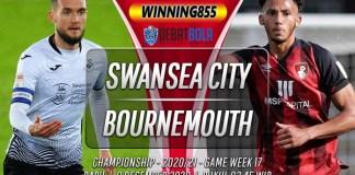 Prediksi Swansea City vs Bournemouth 9 Desember 2020