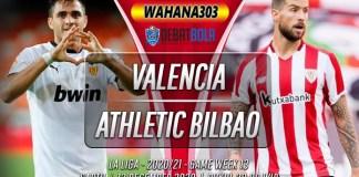 Prediksi Valencia vs Athletic Bilbao 12 Desember 2020
