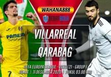 Prediksi Villarreal vs Qarabag 11 Desember 2020