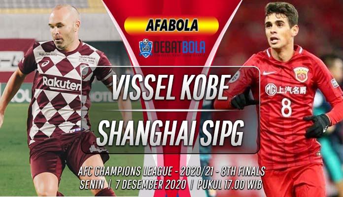 Prediksi Vissel Kobe vs Shanghai SIPG 7 Desember 2020