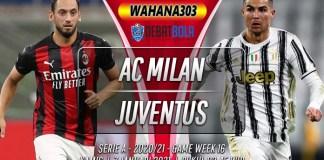 Prediksi AC Milan vs Juventus 7 Januari 2021
