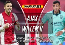 Prediksi Ajax vs Willem II 29 Januari 2021