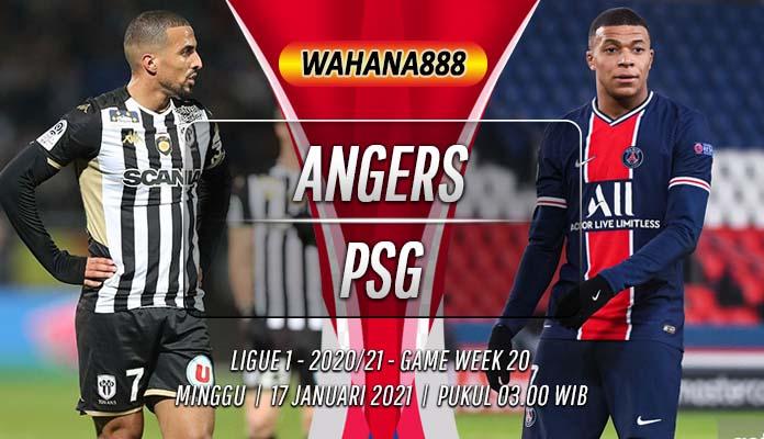 Prediksi Angers vs PSG 17 Januari 2021