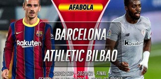 Prediksi Barcelona vs Athletic Bilbao 18 Januari 2021